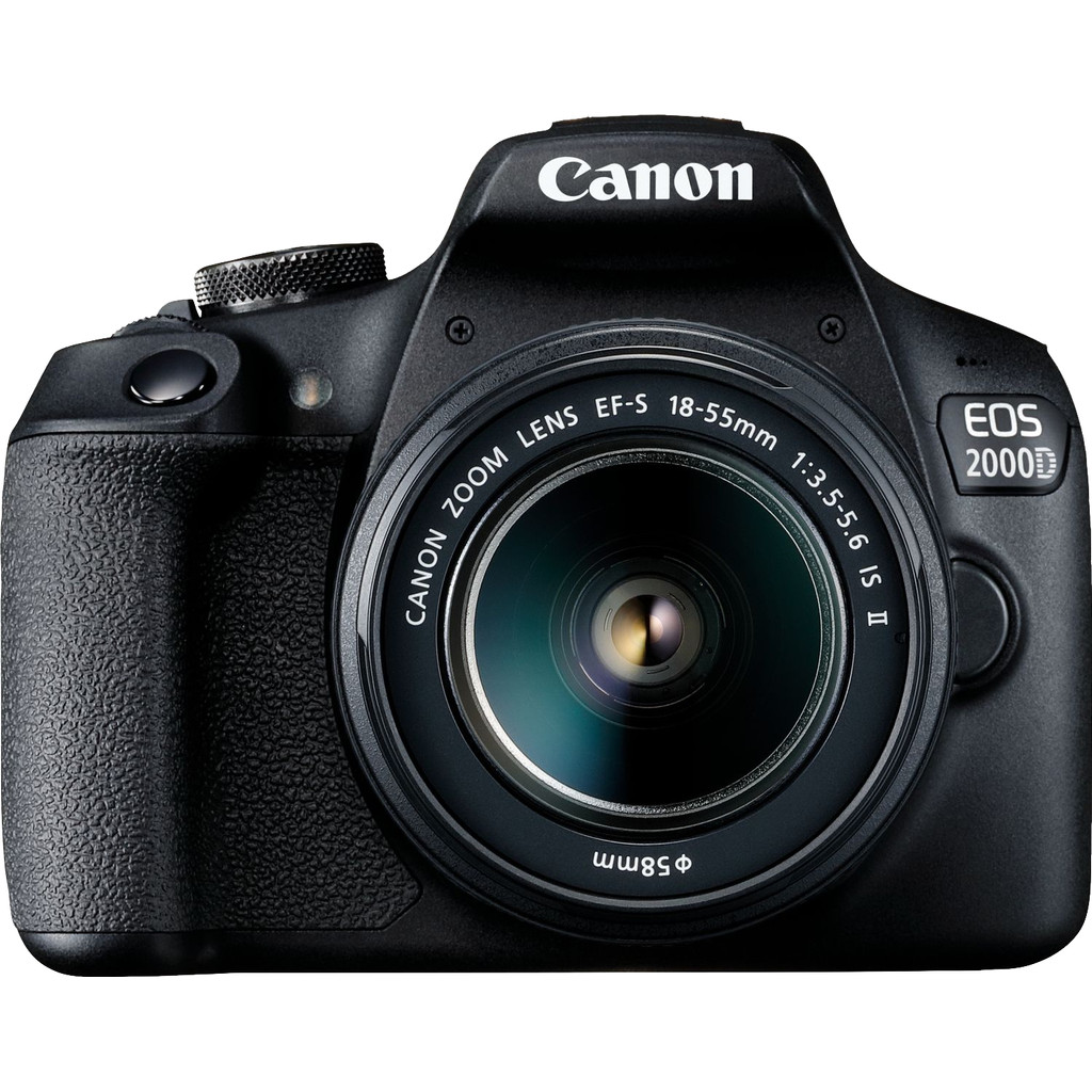 Canon EOS 2000D + 18-55mm IS II bestellen