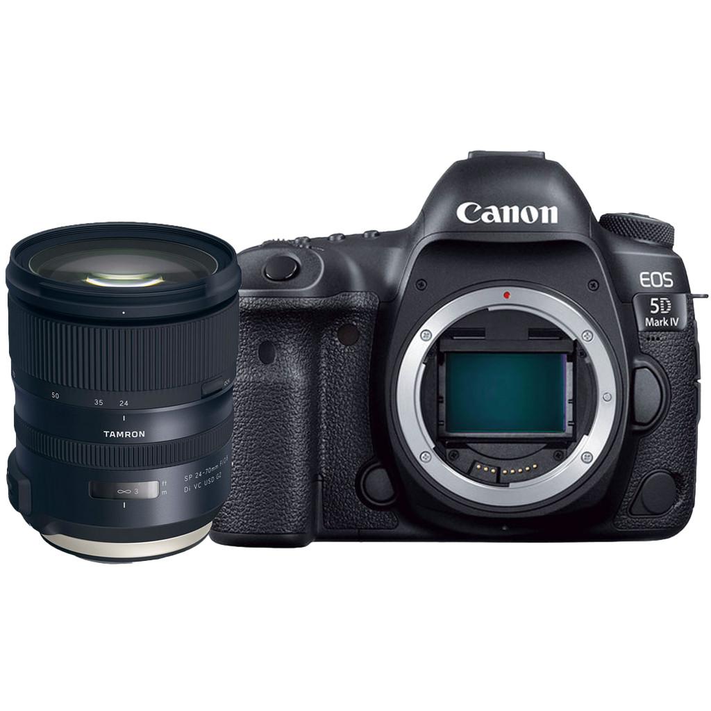 Canon EOS 5D Mark IV + Tamron EF 24-70mm f/2.8 Di VC USD G2 bestellen
