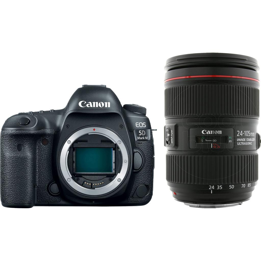Canon EOS 5D Mark IV + EF 24-105mm f/4L IS II USM bestellen