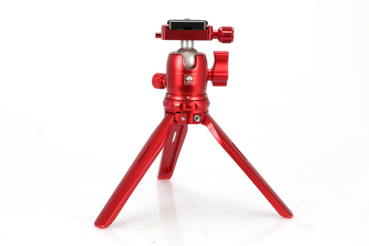 Sirui TableTop 3T-15B tafelstatief – Rood bestellen